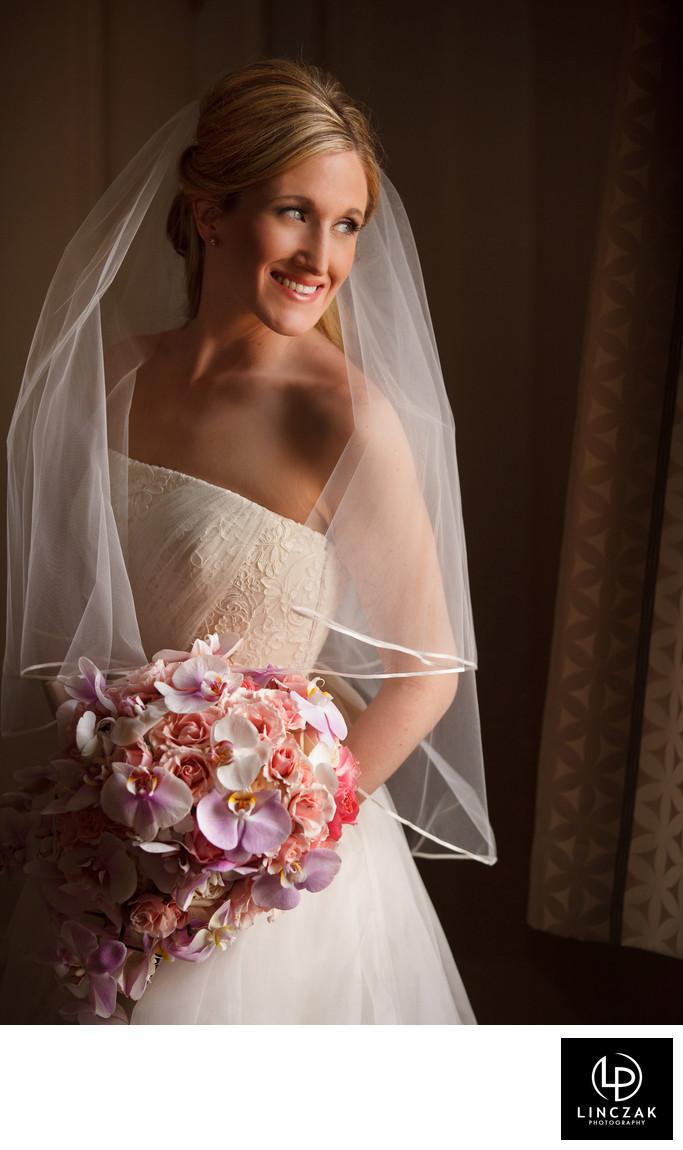 beautiful cleveland bridal portrait