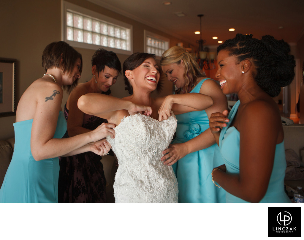 happy cleveland wedding photos