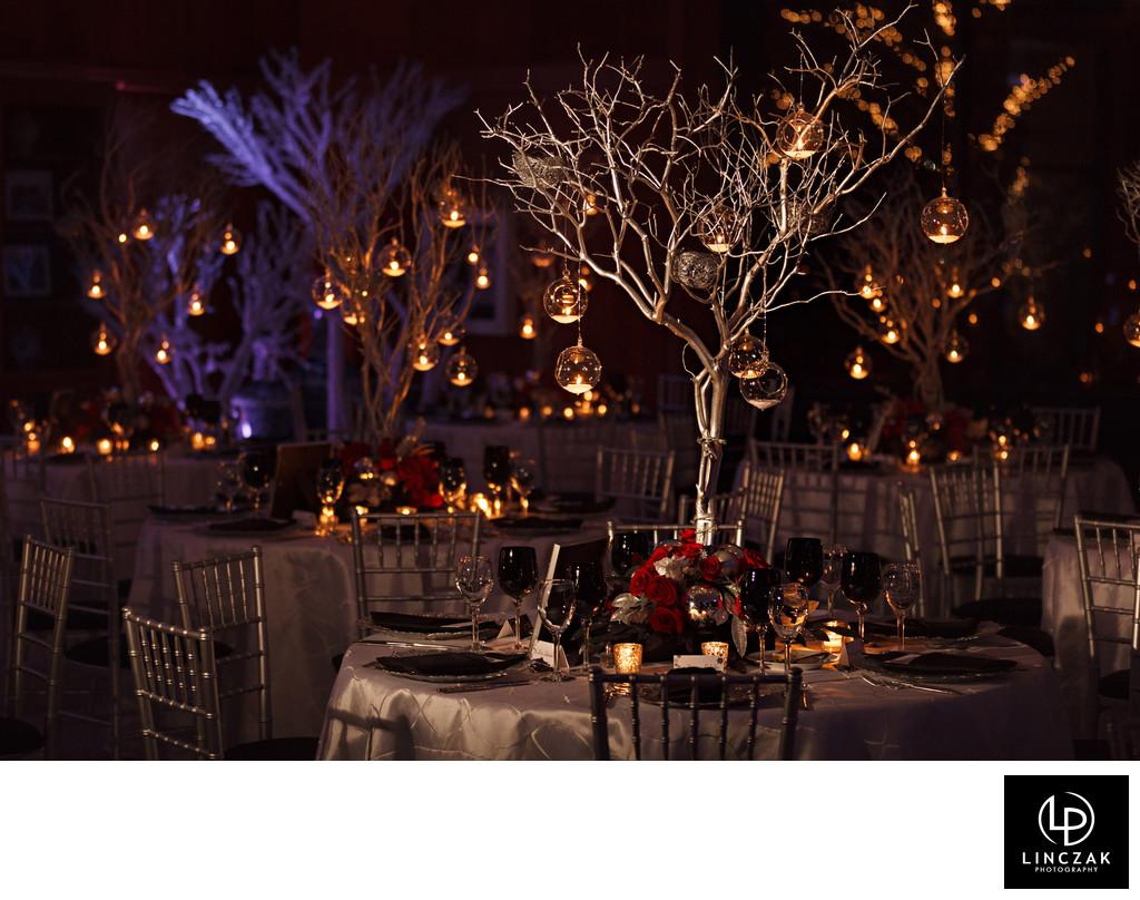 botanical gardens wedding reception