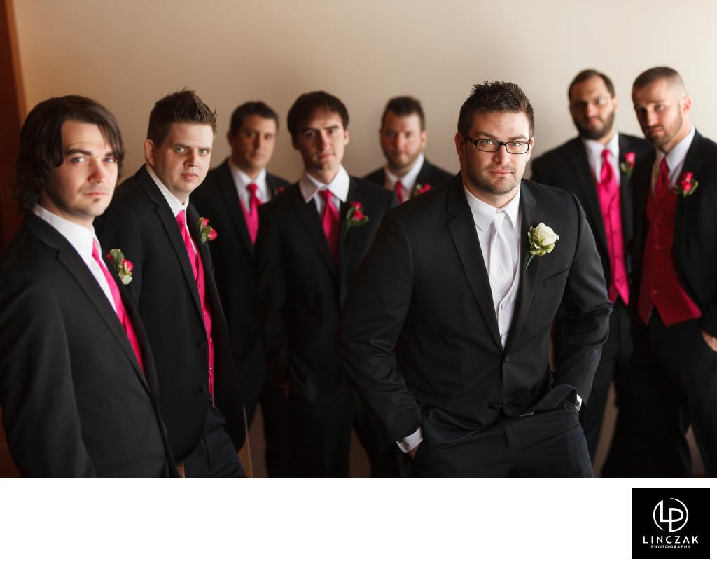 cleveland groomsmen photos