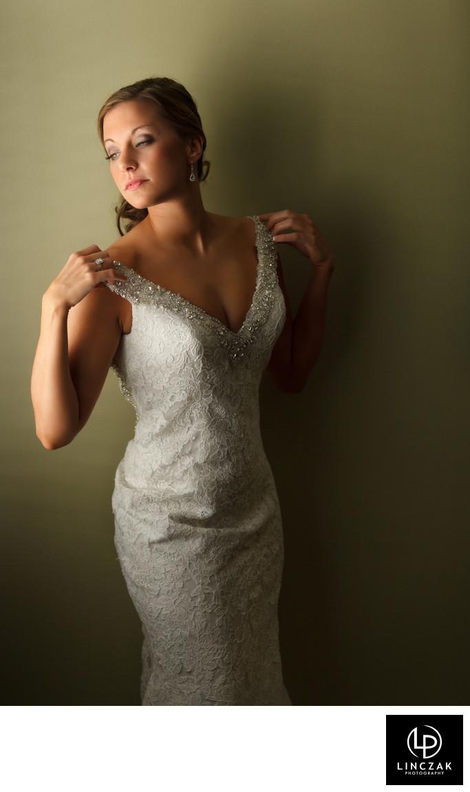 fashion inspired cleveland wedding