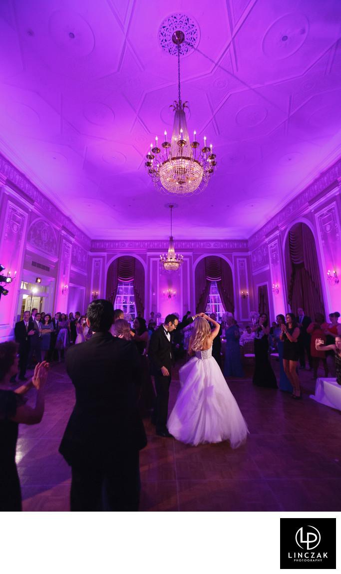 renaissance ballroom wedding reception