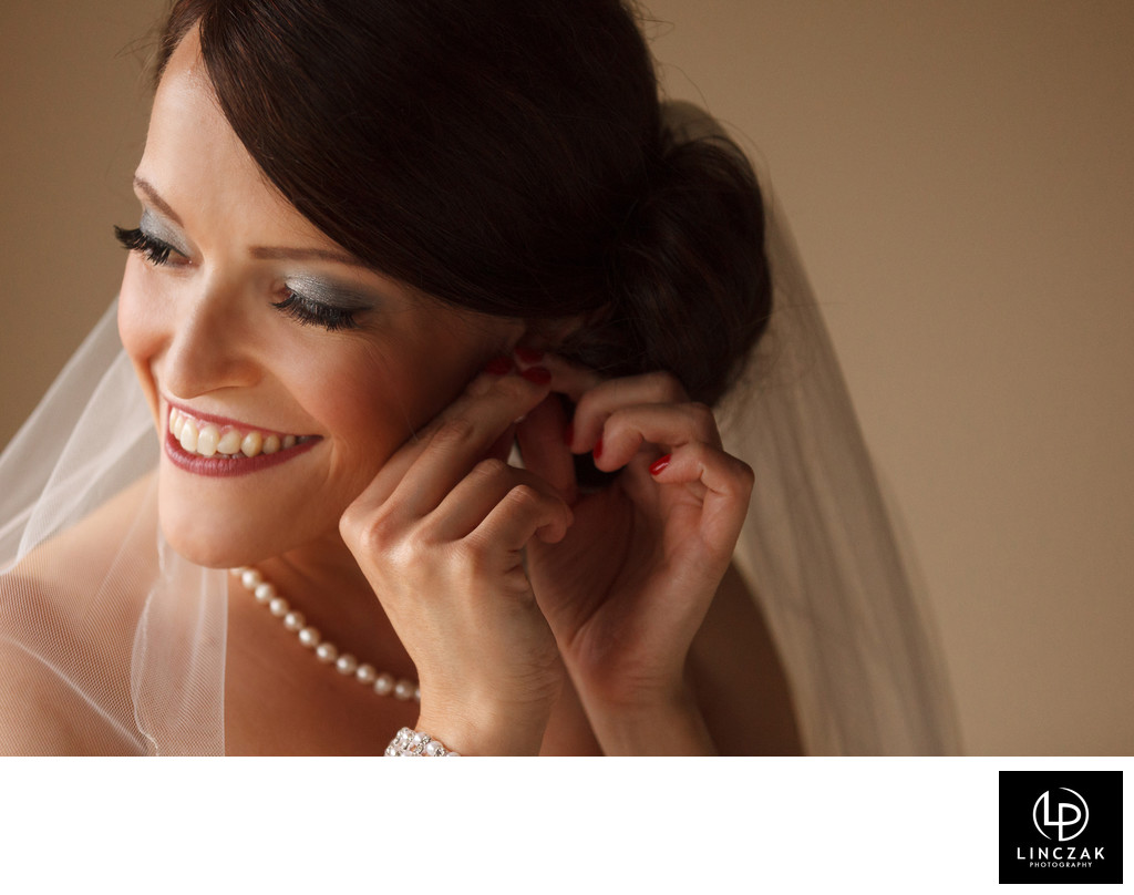 bride in cleveland wedding