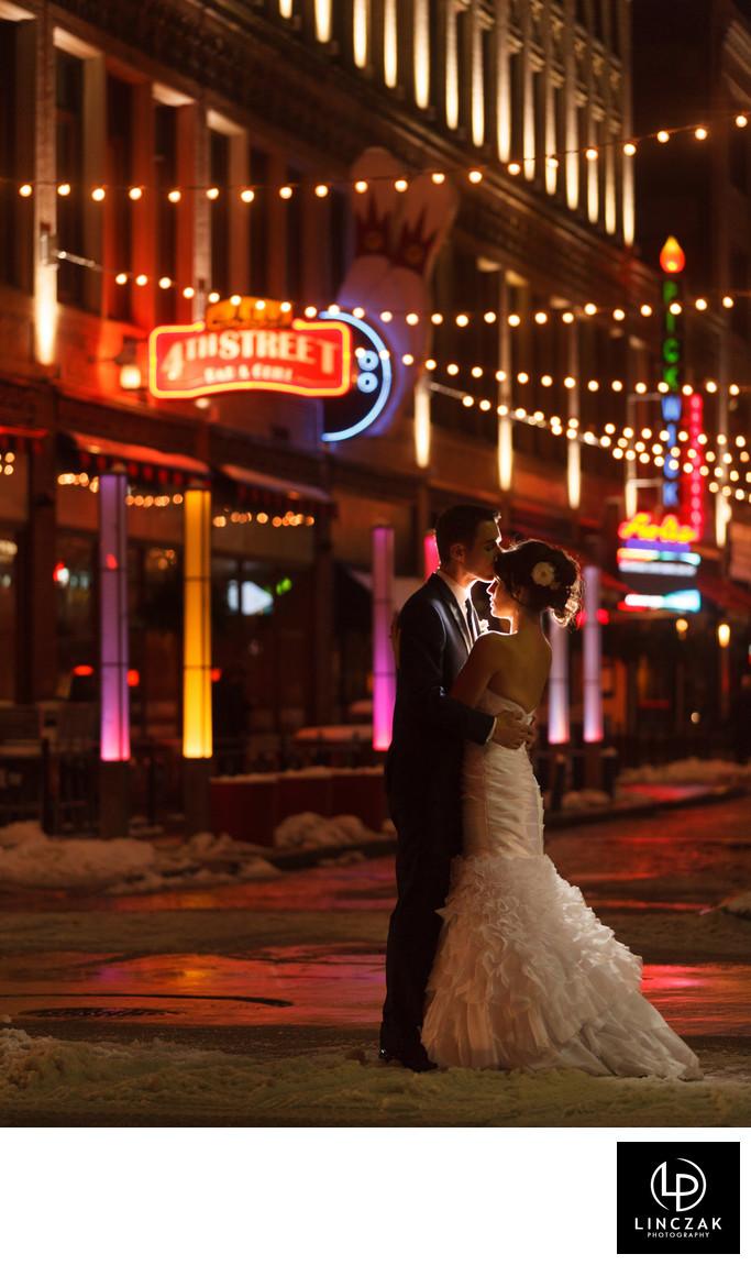 east 4th cleveland wedding photos