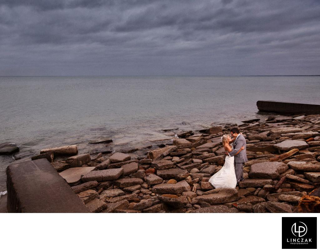 lake erie cleveland weddings