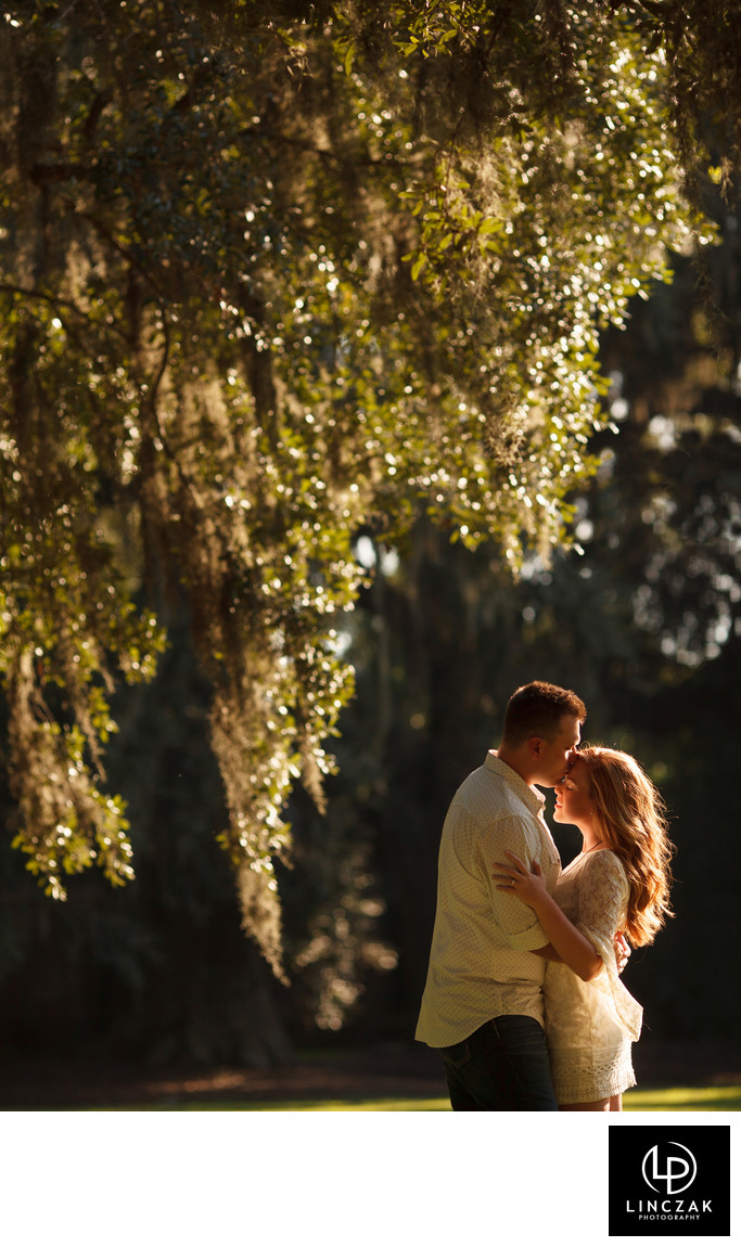 rustic inspired engagement session