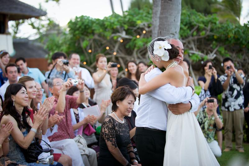 Paul Mitchell Estate Wedding Photo - Lanikai