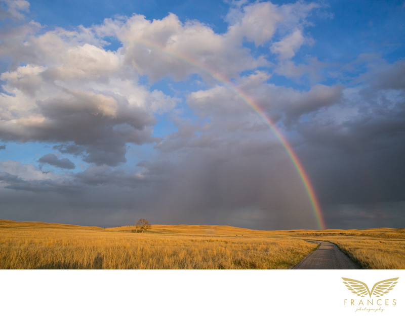 Landscape photography rainbow view Denver photographers