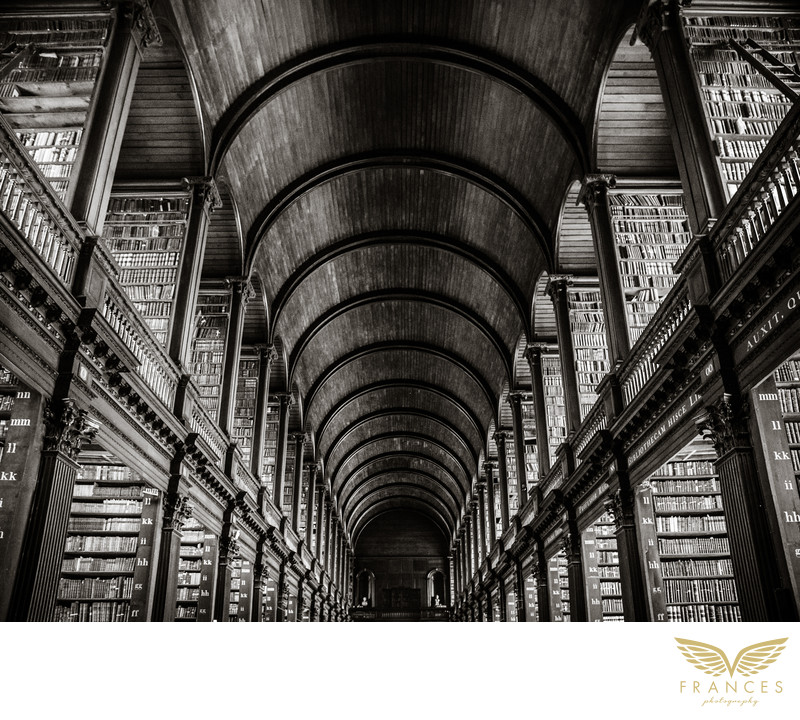 Trinity College Library Dublin travel photography