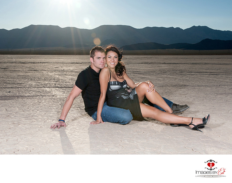 Dry Lake Bed Engagement Session
