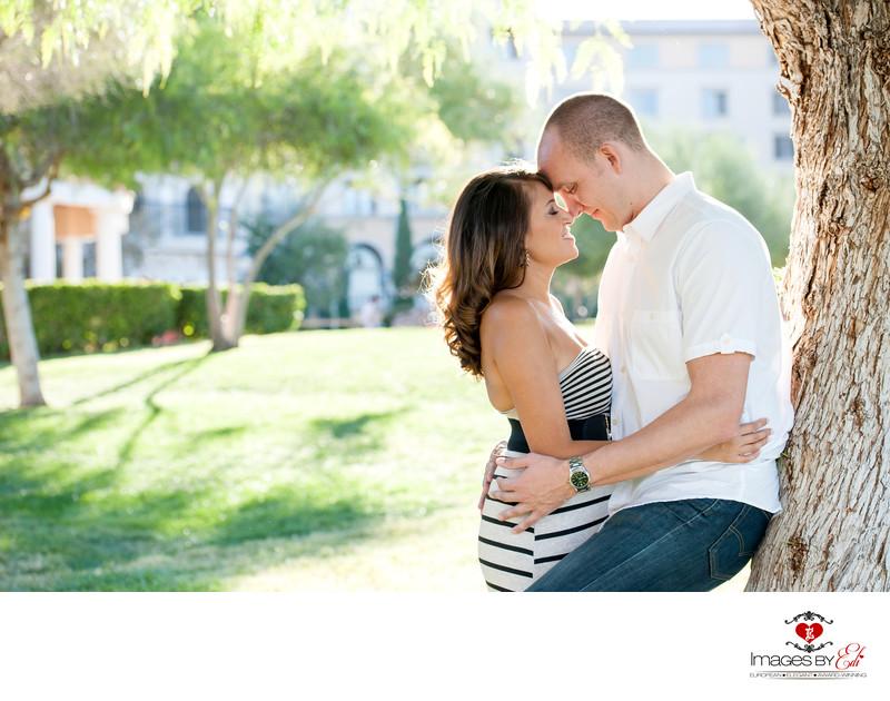 Lake Las Vegas Engagement Photographer
