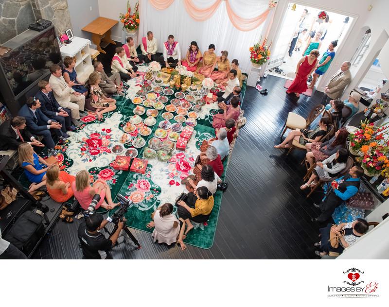 Covina, California Cambodian (Khmer) wedding ceremony photographer