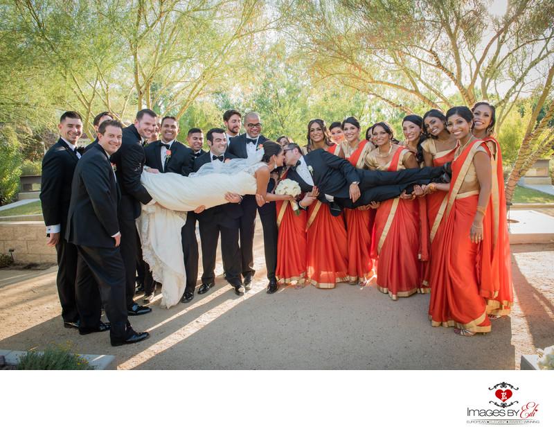 Best Indian Las Vegas Springs Preserve Wedding Photographer