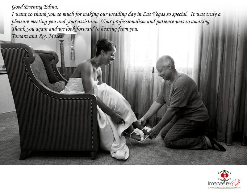 Las Vegas Wedding Photographer review