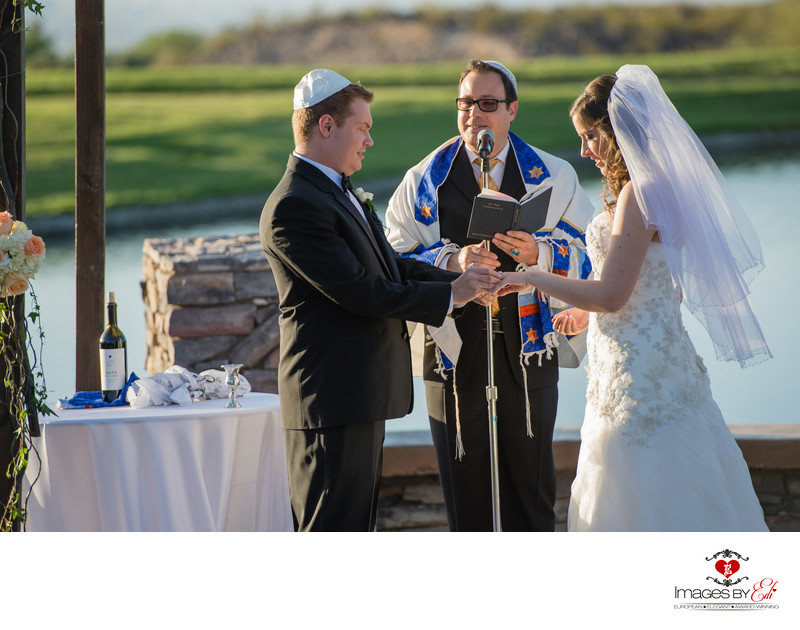 Anthem Country Club jewish wedding photography