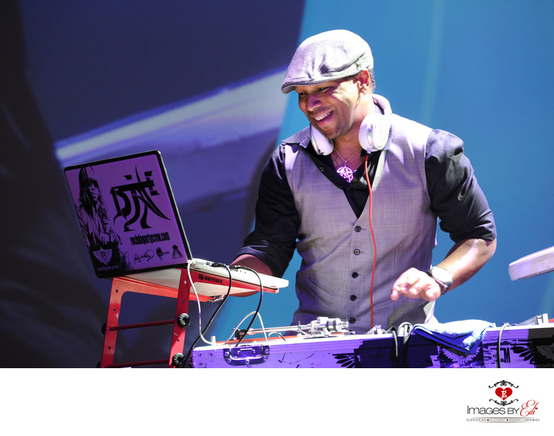 Las Vegas corporate event photography with DJ