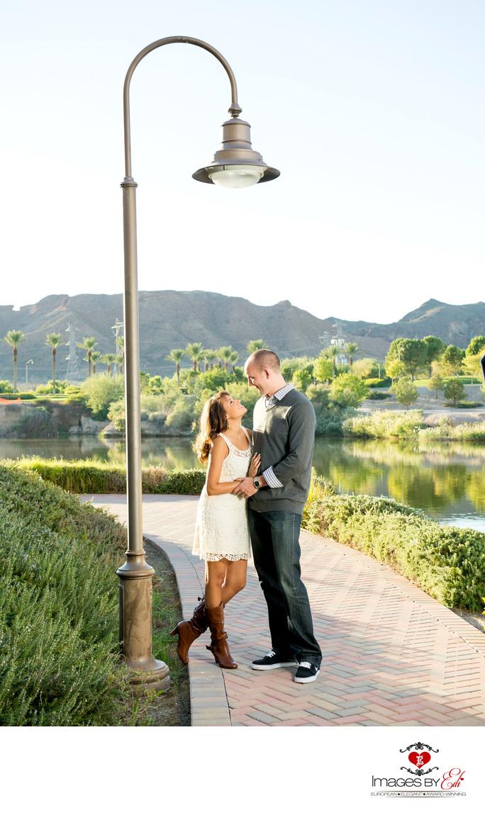 Best Lake Las Vegas Engagement Photographer