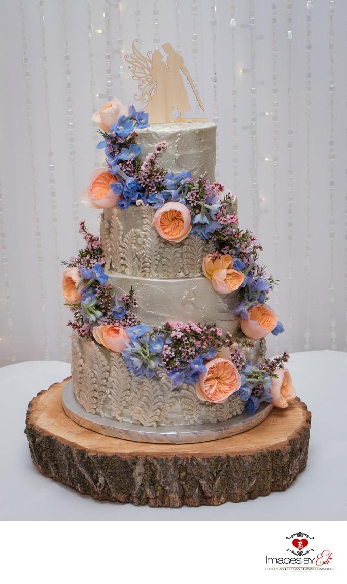 Fairytale wedding cake at the Grove Las Vegas