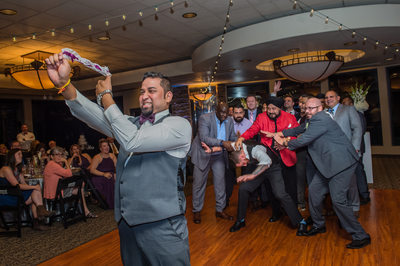 Wedgewood Las Vegas at Stallion Mountain Wedding fun garter toss