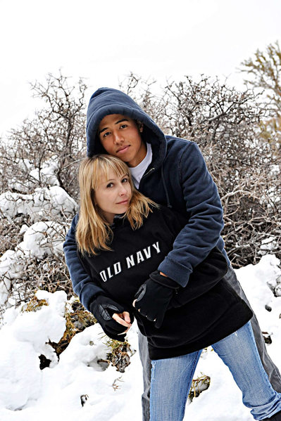 Mt Charleston Engagement Session in the snow