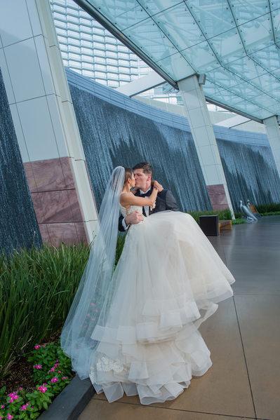 Mandarin Oriental Las Vegas wedding Photos