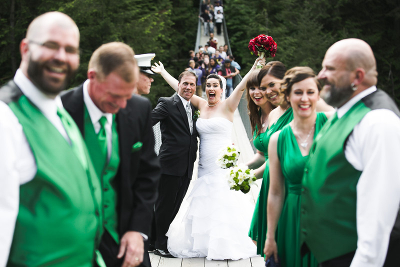 Saint Patty's Day Themed Wedding