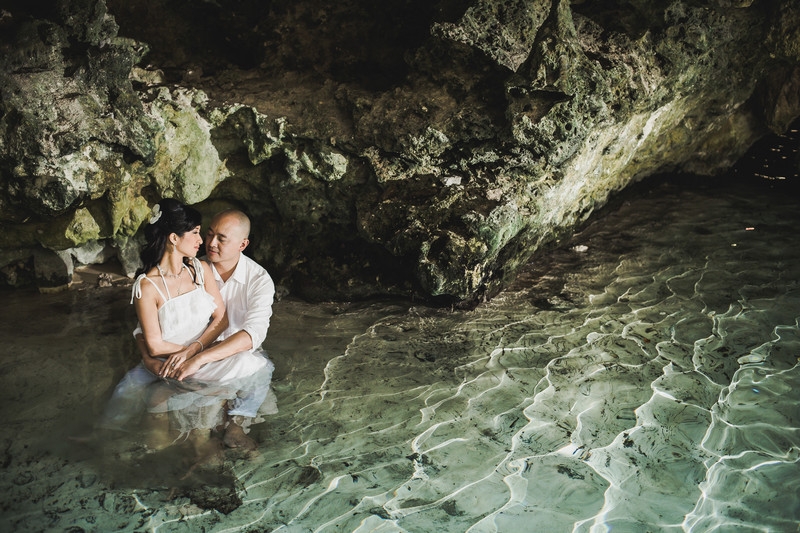 Cenote Wedding Photos