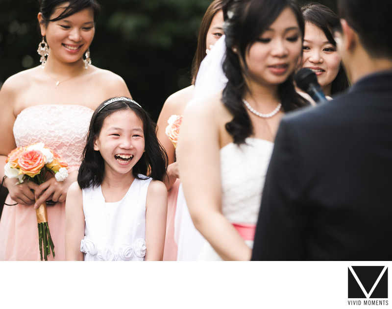 Flower Girl Crying