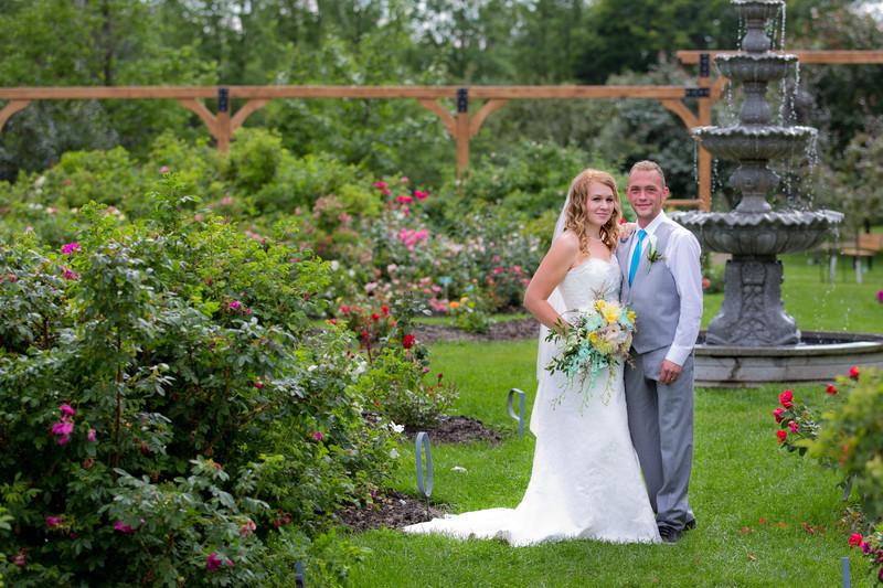St Albert Botanic Park Wedding Photography