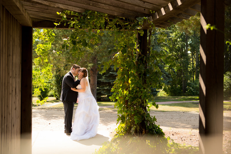 Devonian Botanic Gardens Wedding Photos
