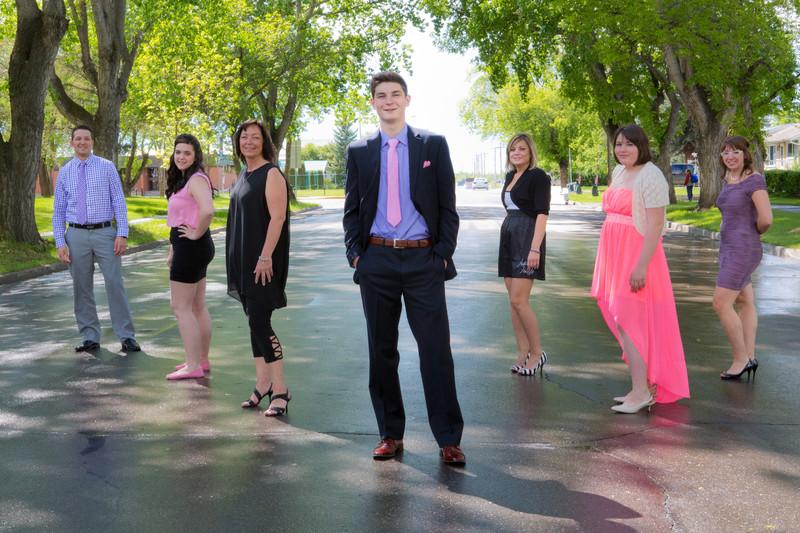 Grad Family Photos