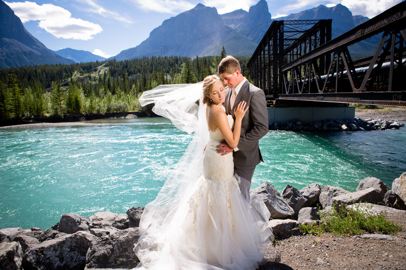 Canmore Wedding Photo