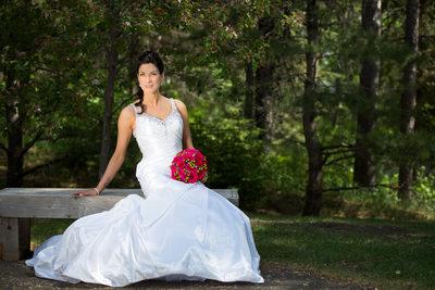 Devonian Botanic Gardens Wedding Photographer