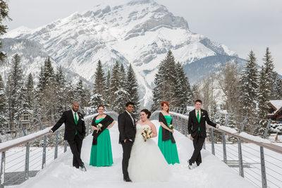 Mountain Wedding Banff