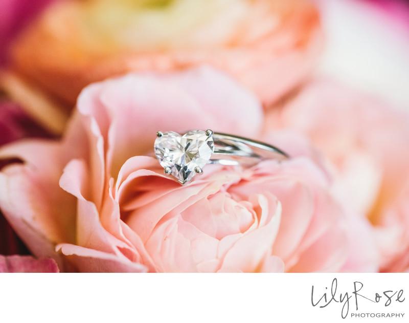 Tiffany's and Co. Heart Wedding Ring Photogra
