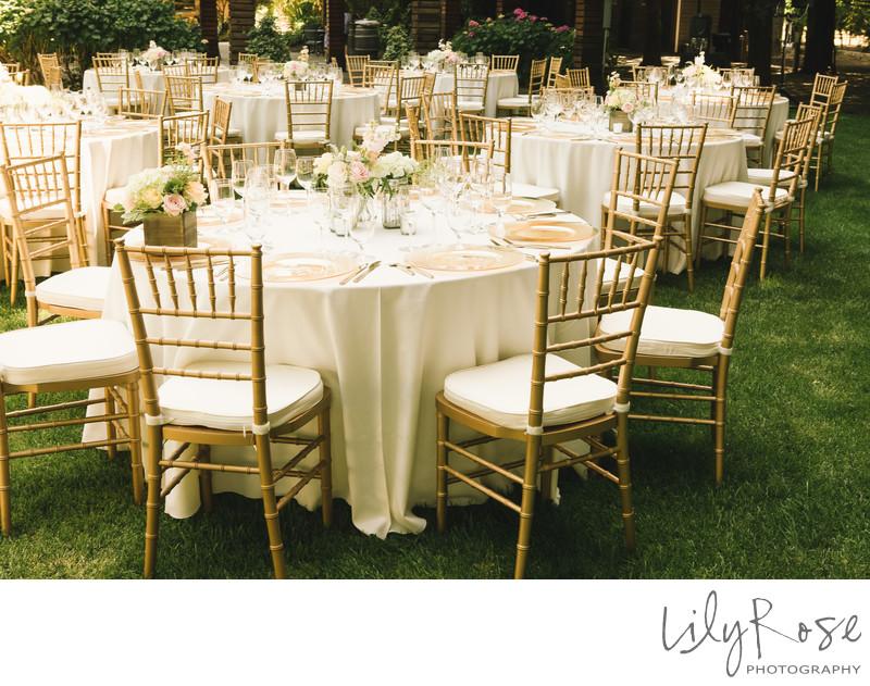 Trentadue Winery Wedding Reception