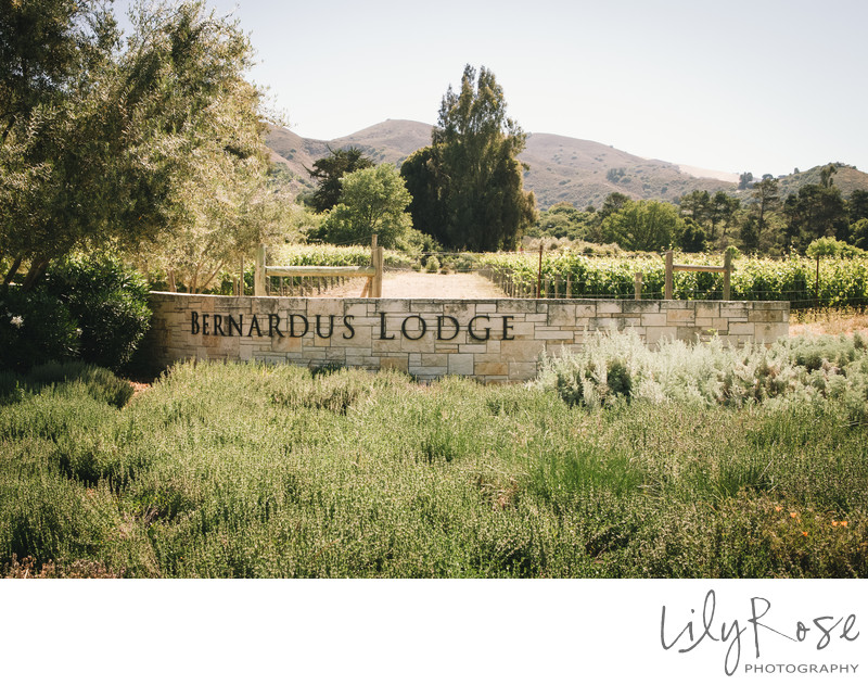 Best Wedding Venue Bernardus Lodge and Spa