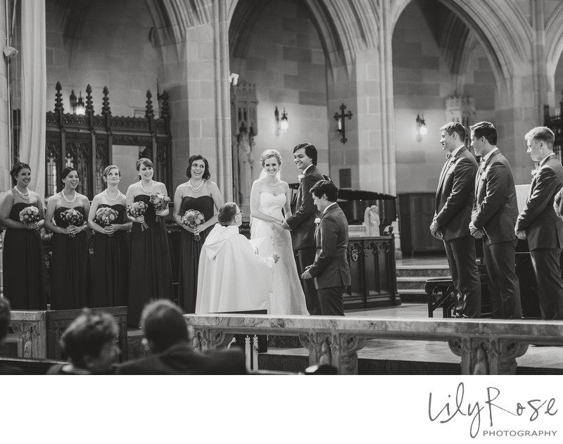 St. Dominic's Catholic Church Wedding Photography