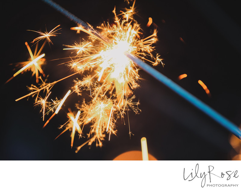 Grand Island Mansion Top Photography Sparklers