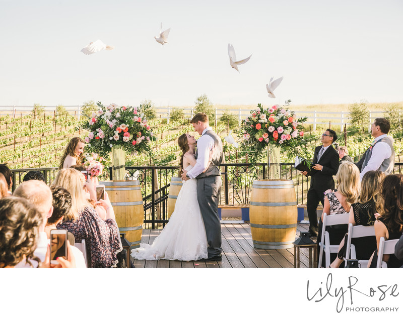 Outdoor Wedding at Meritage Resort and Spa