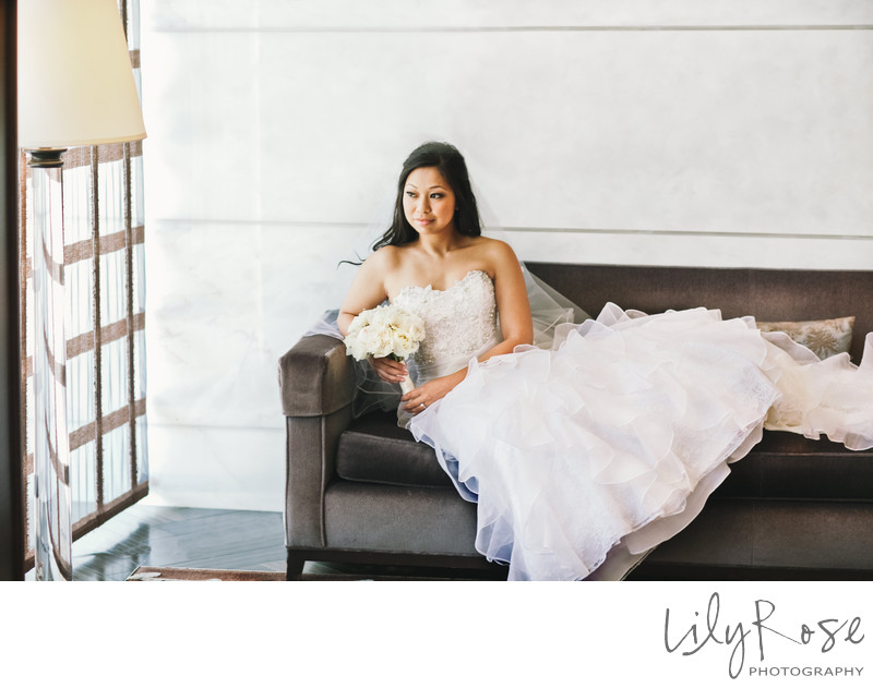 San Francisco Wedding Photographs St. Regis Hotel