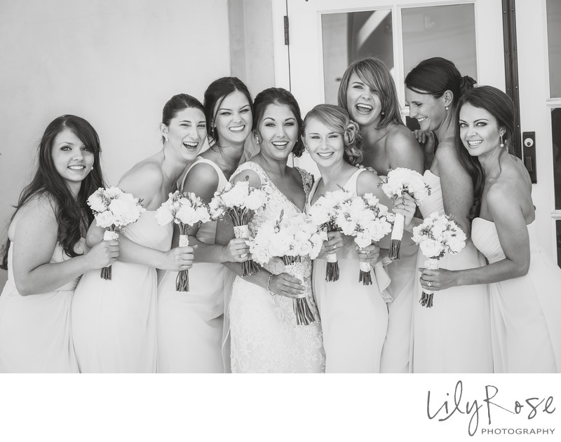 Bridesmaids in Napa Meritage Resort