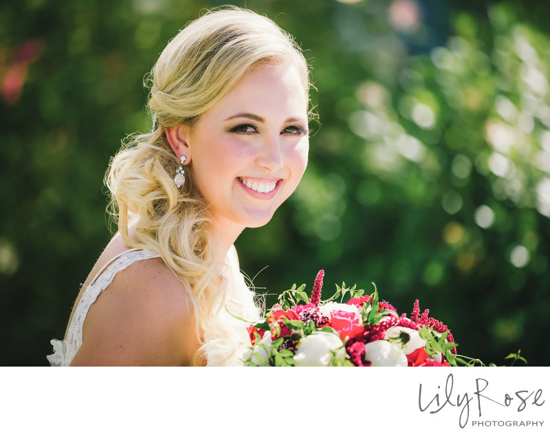 Geyserville Garden Wedding Photographer
