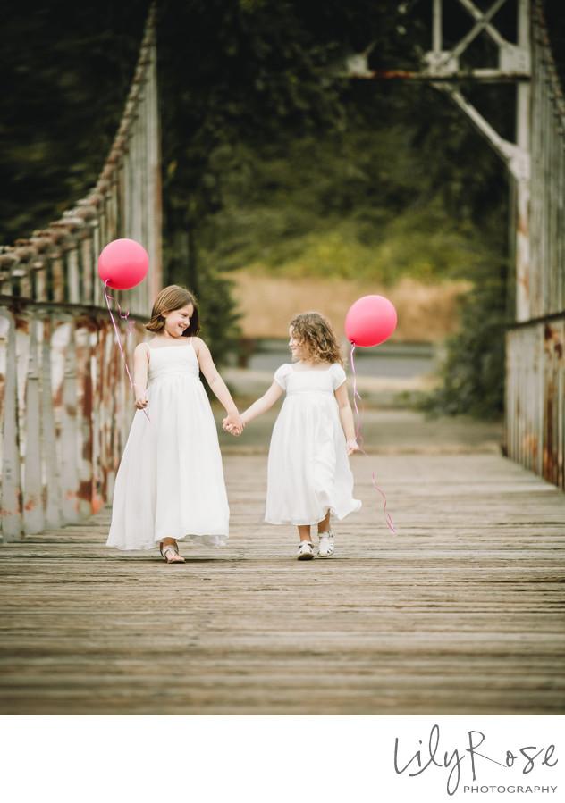 Flower Girls Tahoe Wedding Photographers