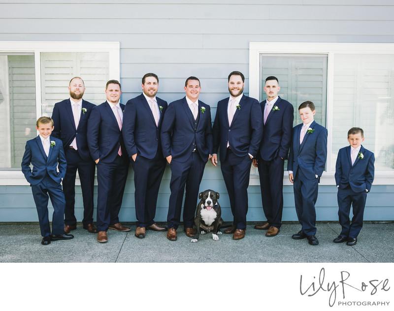 Groomsmen Best Wedding Photographers Geyserville Inn