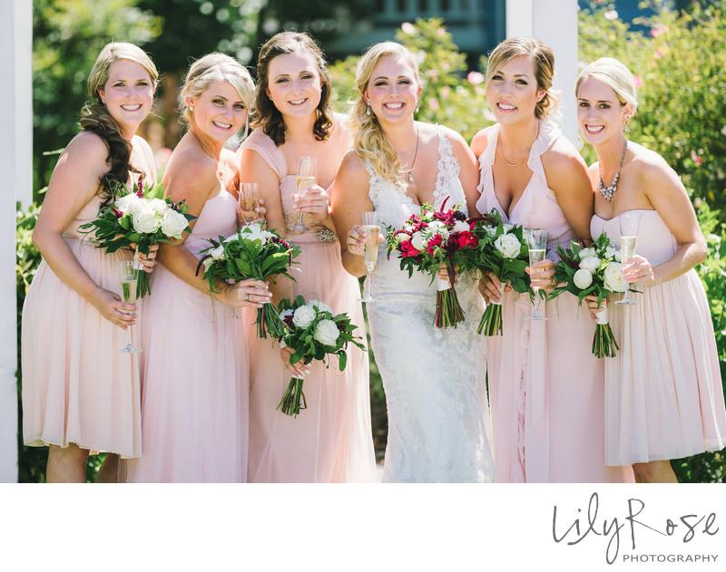 Bridal Party Geyserville Inn