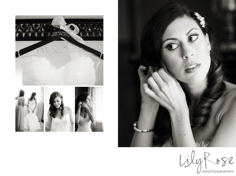 Getting Ready Napa Wedding and Engagement Photographers