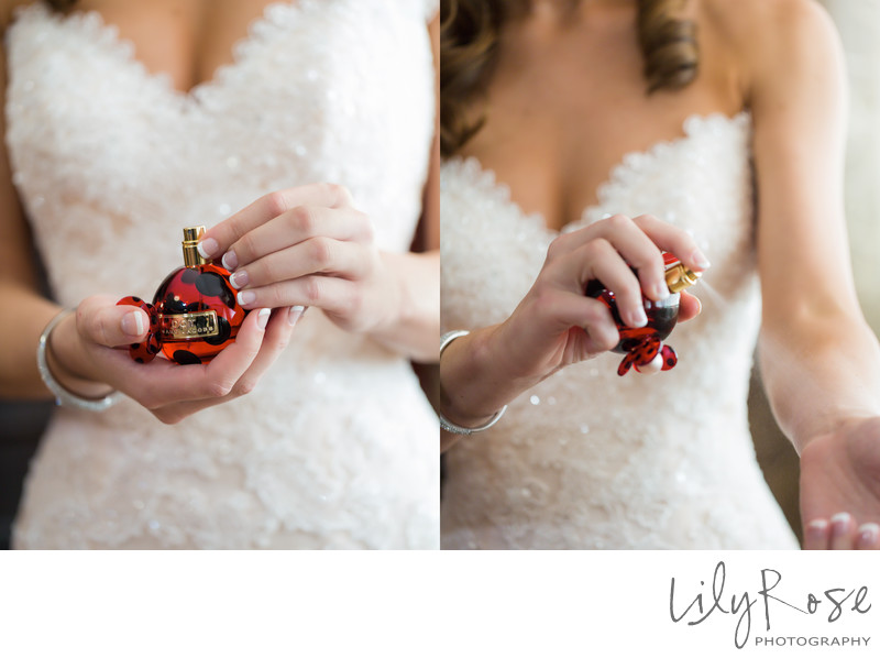 Perfume Details in Napa Wedding Engagement Photography