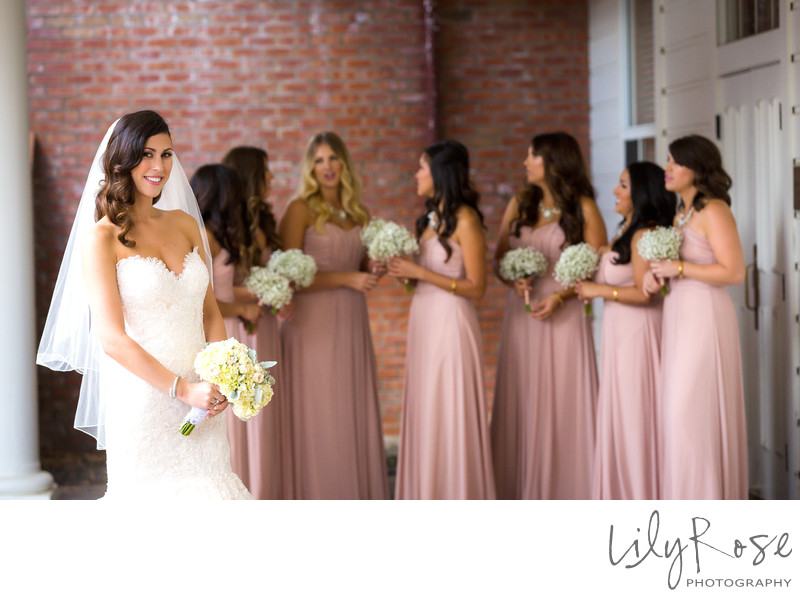 Bridal Party Portrait Silverado Resort and Spa Napa