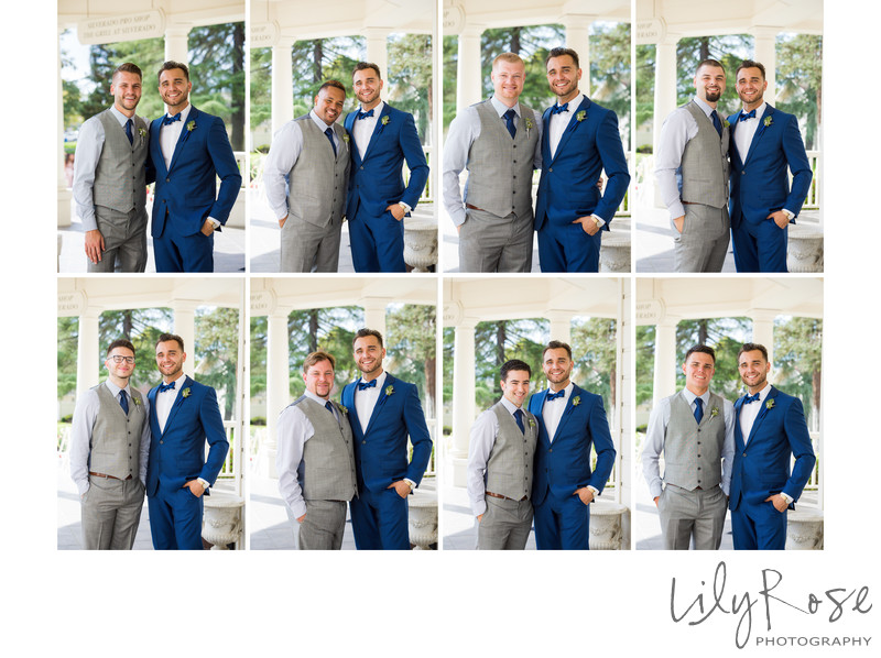 Groomsmen Portraits Silverado Resort and Spa